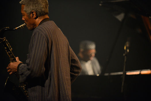 Randy Weston & Billy Harper - photo credit: George Braunschweig GM-Press